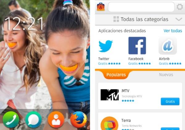 Facebook Firefox OS