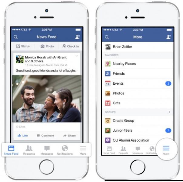 Facebook Gratis para iOS