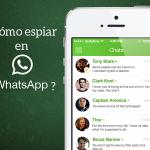 Espiar conversaciones whatsapp