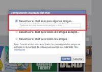 Facebook Messenger desconectado